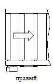 Расположение привода - справа