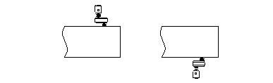 расположение приводов - левый и правый